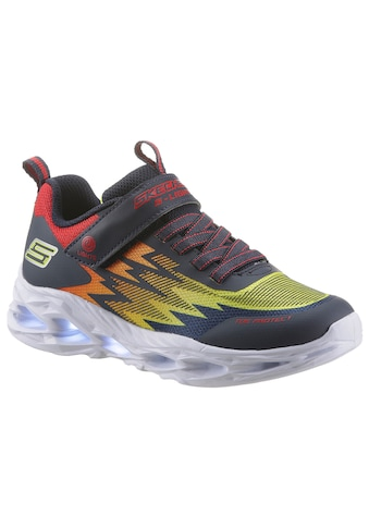 Skechers Kids Sneaker »VORTEX-FLASH«, mit On/Off-Knopf für Blinkfunktion kaufen