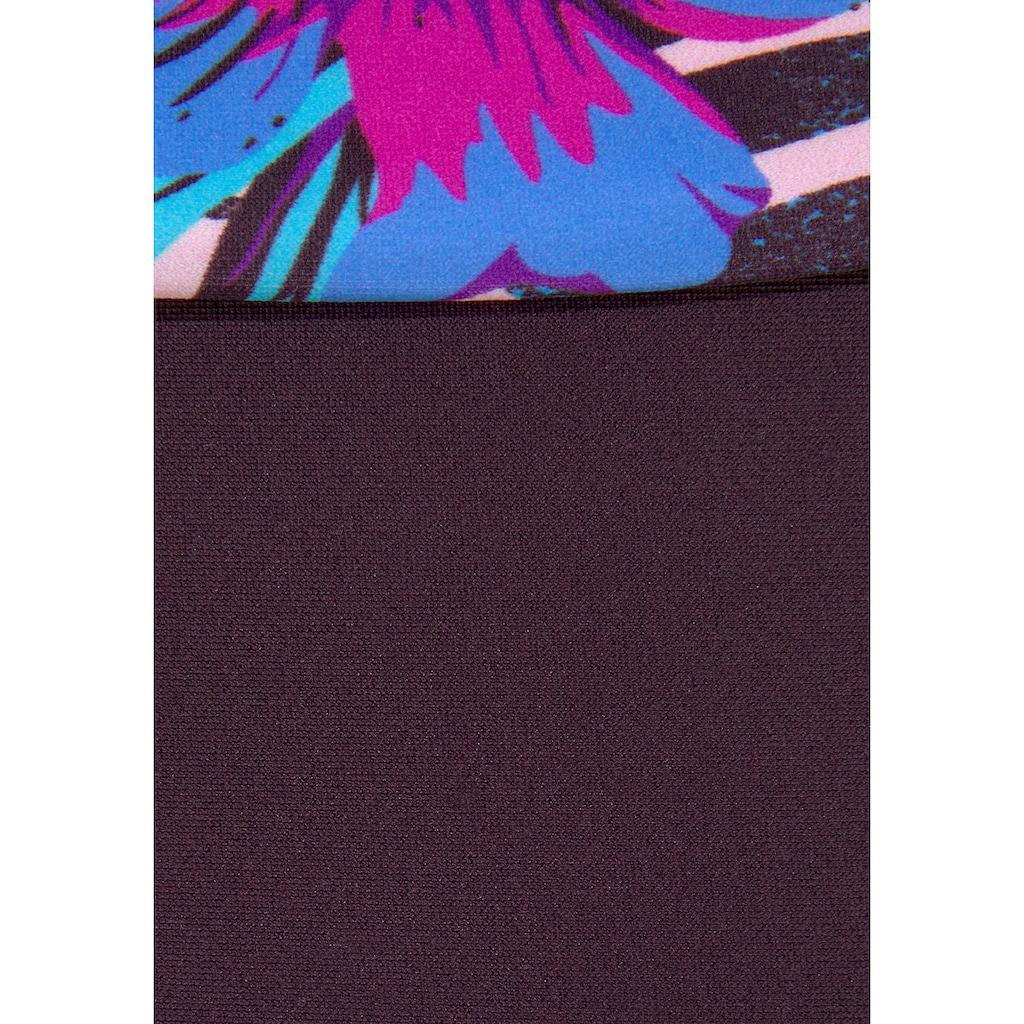 Venice Beach Bikini-Hose »Marly«, mit Umschlagbund