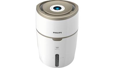 Philips Luftbefeuchter »HU4816/10«, 4 l Wassertank, 2000 Series, mit NanoCloud Technologie, für Räume bis 44 m² kaufen