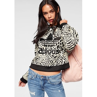 adidas Originals Kapuzensweatshirt »ALLOVER PRINT HOODIE