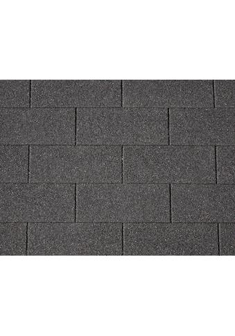 OUTDOOR LIFE PRODUCTS Rechteck - Dachschindeln 3 m², schwarz kaufen