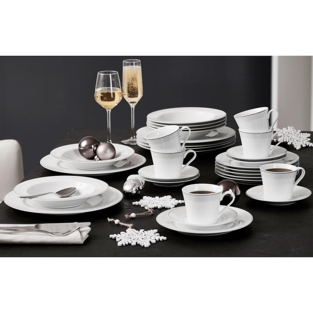 Ritzenhoff & Breker Kaffeeservice »Venezia«, (Set, 18 tlg.), puristisches Design