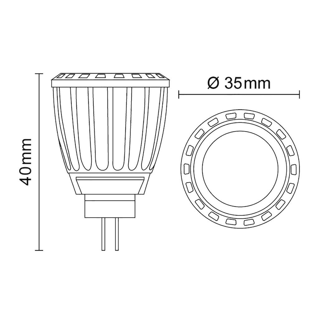 INNOVATE MR11 LED-Leuchtmittel im 5er-Pack