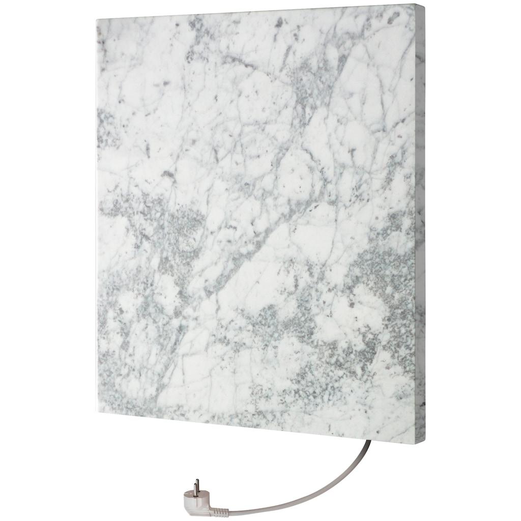 Marmony Infrarotwandheizung »Carrara, 500 Watt«, trocknet Wände und Mauerwerk, aus Carrara-Marmor