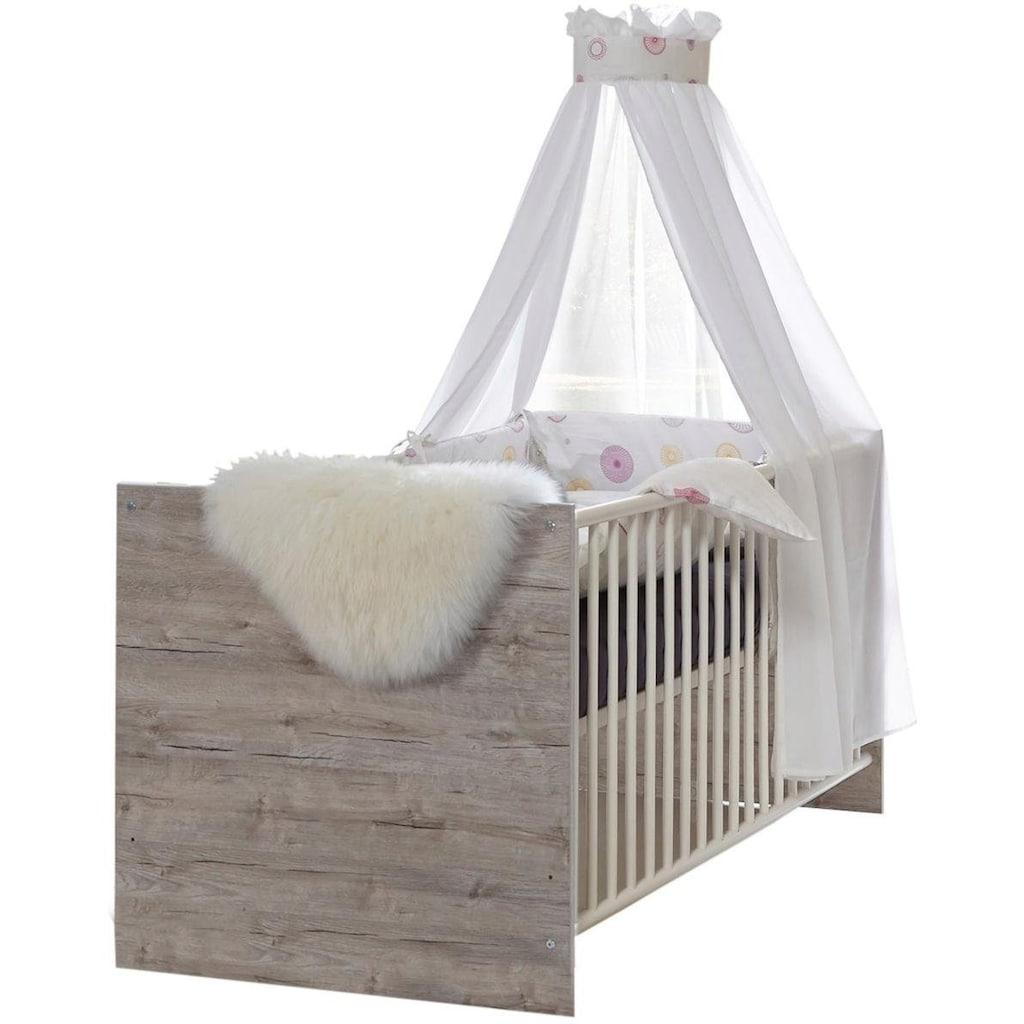 arthur berndt Babyzimmer-Komplettset »Franzi«, (Set, 4 St.), Made in Germany; mit Kinderbett, Regal, Schrank und Wickelkommode