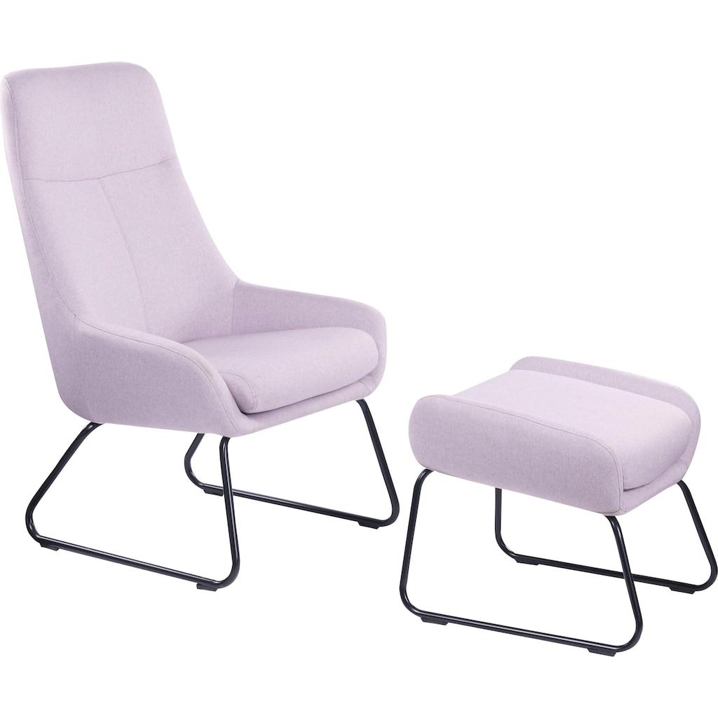 SIT Sessel »Sit&Chairs«, mit modernem Kufengestell