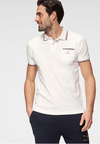 Gant Poloshirt »D1. 3-COL TIPPING PIQUE RUGGER« kaufen