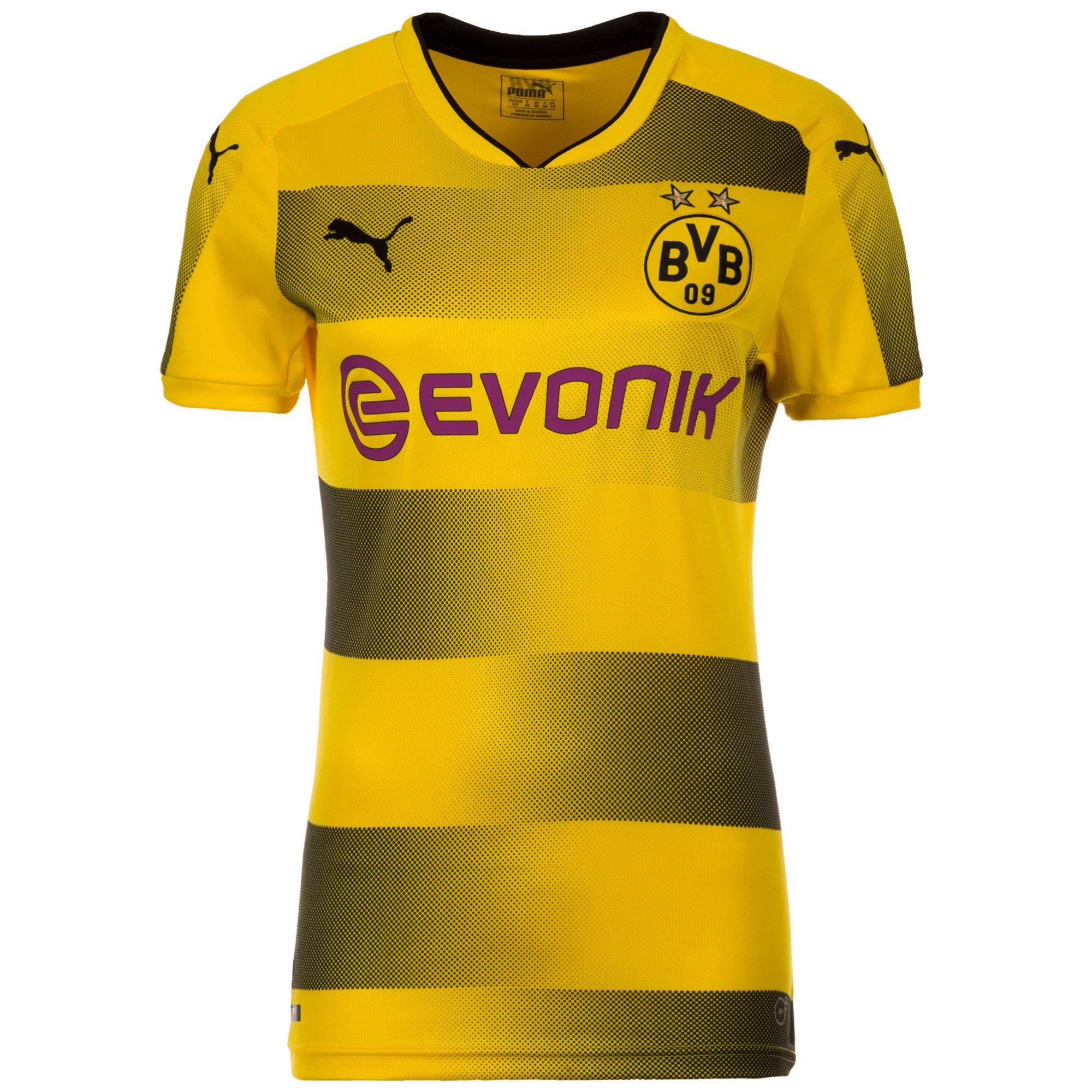 PUMA Fußballtrikot Borussia Dortmund 17/18 Heim | Sportbekleidung > Trikots > Fußballtrikots | Gelb | Ab | Puma