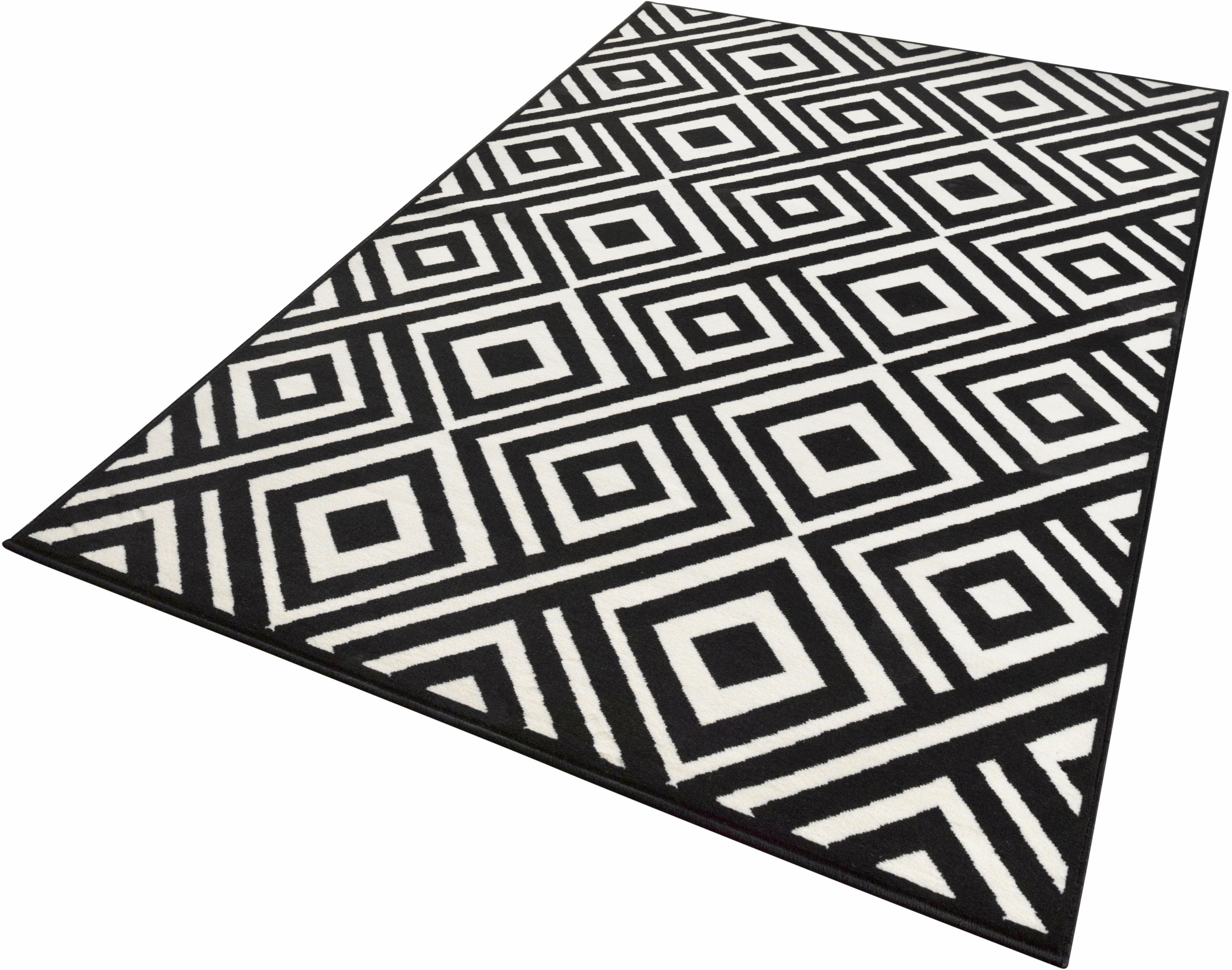 Teppich Art Zala Living rechteckig Höhe 9 mm maschinell gewebt