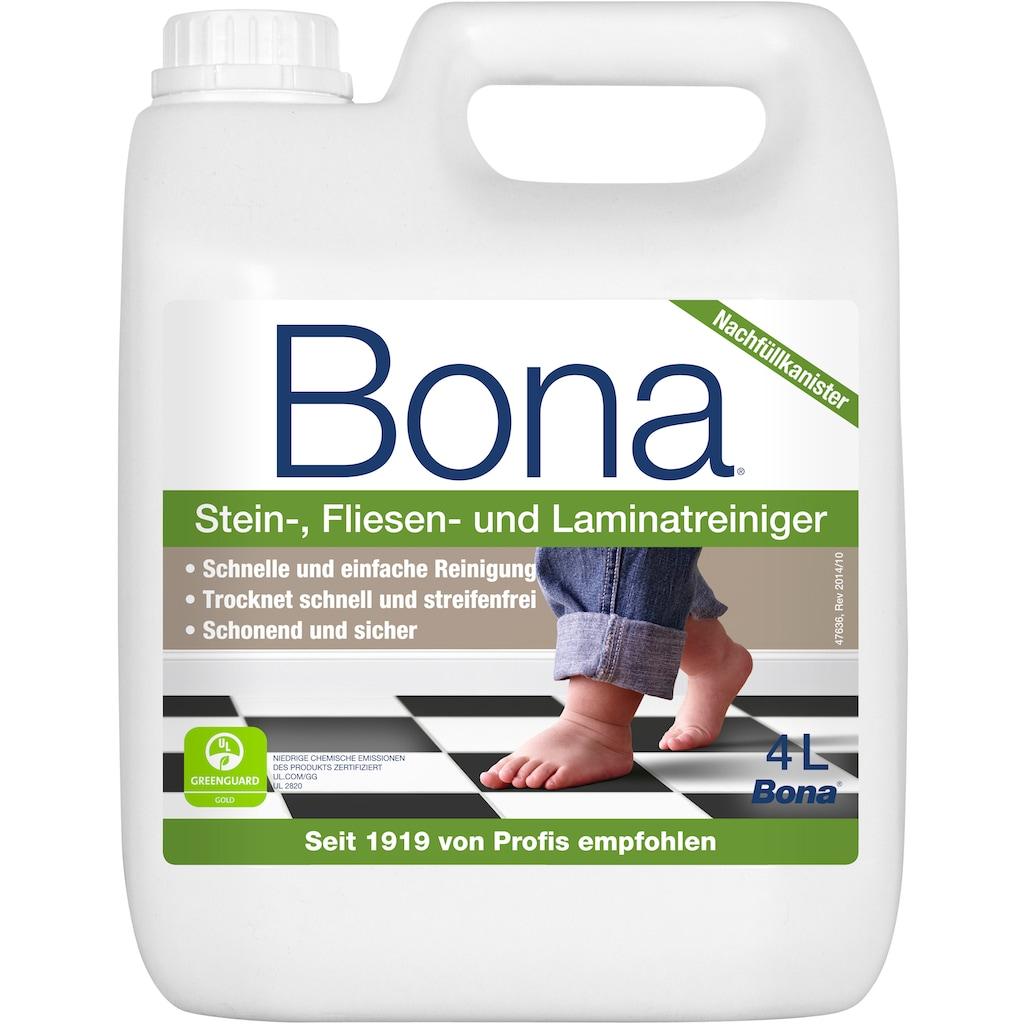 Bona Fussbodenreiniger, (1 St.), für Fliesen, 4 L Inhalt, pH Wert circa 7