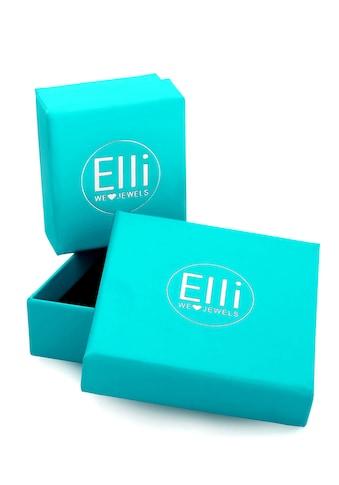 Elli Fingerring »Basic Twisted Gedreht Minimal Look 375 Gelbgold« kaufen