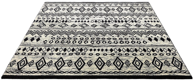 Teppich Contemporary Kelim Wecon Home rechteckig Höhe 85 mm maschinell gewebt