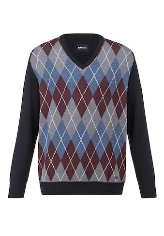 Babista V-Ausschnitt-Pullover, aus pflegeleichter Baumwoll-Mischung kaufen