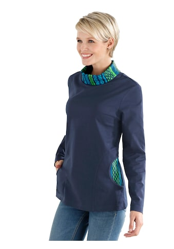 Classic Basics Sweatshirt mit kontrastfarbenen Details kaufen