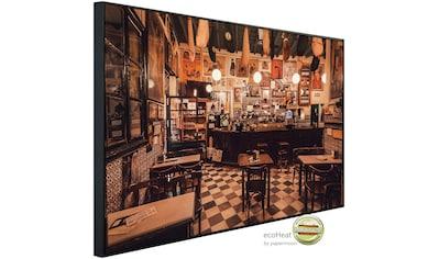 Papermoon Infrarotheizung »Vintage Style Restaurant«, sehr angenehme Strahlungswärme kaufen