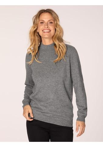 Mona Kaschmir-Pullover mit Stehkragen kaufen