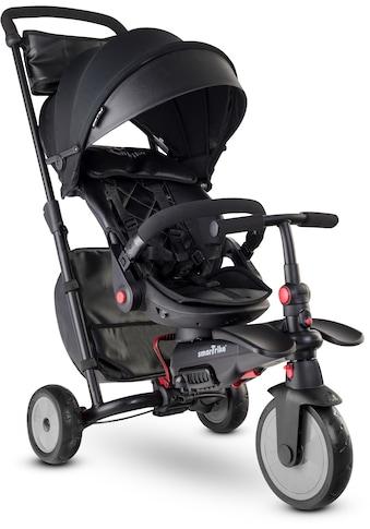 smarTrike® Dreirad »smarTfold STR7, Schwarz«, mit verstellbarem Sonnenschutzdach kaufen