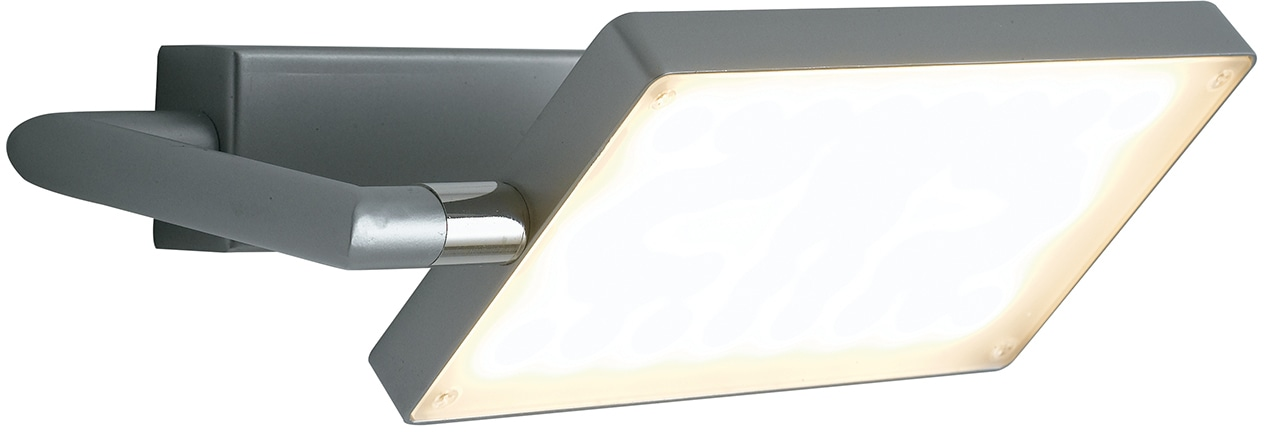 LUCE Design LED Wandleuchte LED-BOOK-AP-GR, LED-Modul, 1 St., Warmweiß