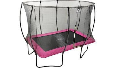 EXIT Gartentrampolin »Silhouette«, BxT: 214x305 cm, mit Sicherheitsnetz kaufen