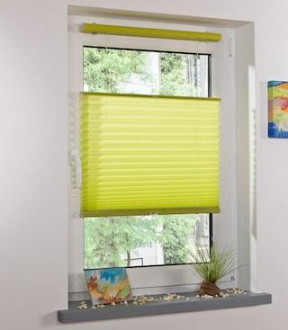 plissee klemmfix thermo plissee liedeco lichtschutz ohne bohren in f hrungsschienen auf. Black Bedroom Furniture Sets. Home Design Ideas