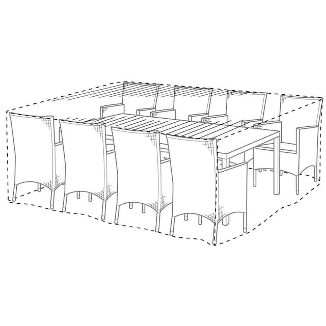 KONIFERA Schutzhülle Gartenmöbelset, (L/B/H) 240x180x90 cm