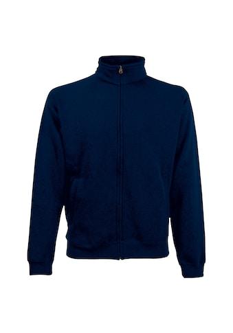 Fruit of the Loom Nickijacke »Herren Sweat-Jacke / Sweatshirt mit Reißverschluss« kaufen