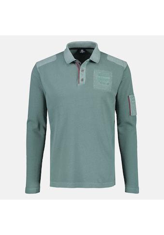 LERROS Langarm-Poloshirt, mit sportiver Ärmeltasche kaufen