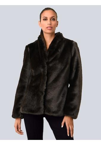 Alba Moda Fellimitatjacke, in kuschelweicher Fake Fur Qualität kaufen