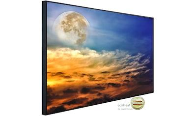 Papermoon Infrarotheizung »Vollmond und Wolken«, sehr angenehme Strahlungswärme kaufen