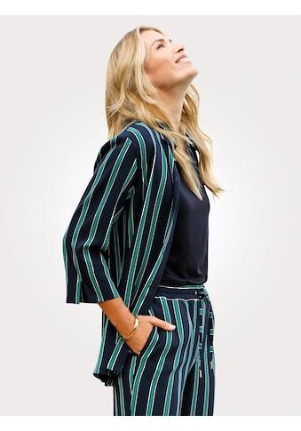 Mona Blusenjacke im Streifendessin kaufen