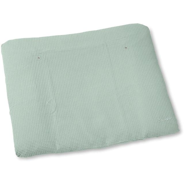 """Sterntaler® Wickelauflagenbezug """"Baylee, puder green"""""""