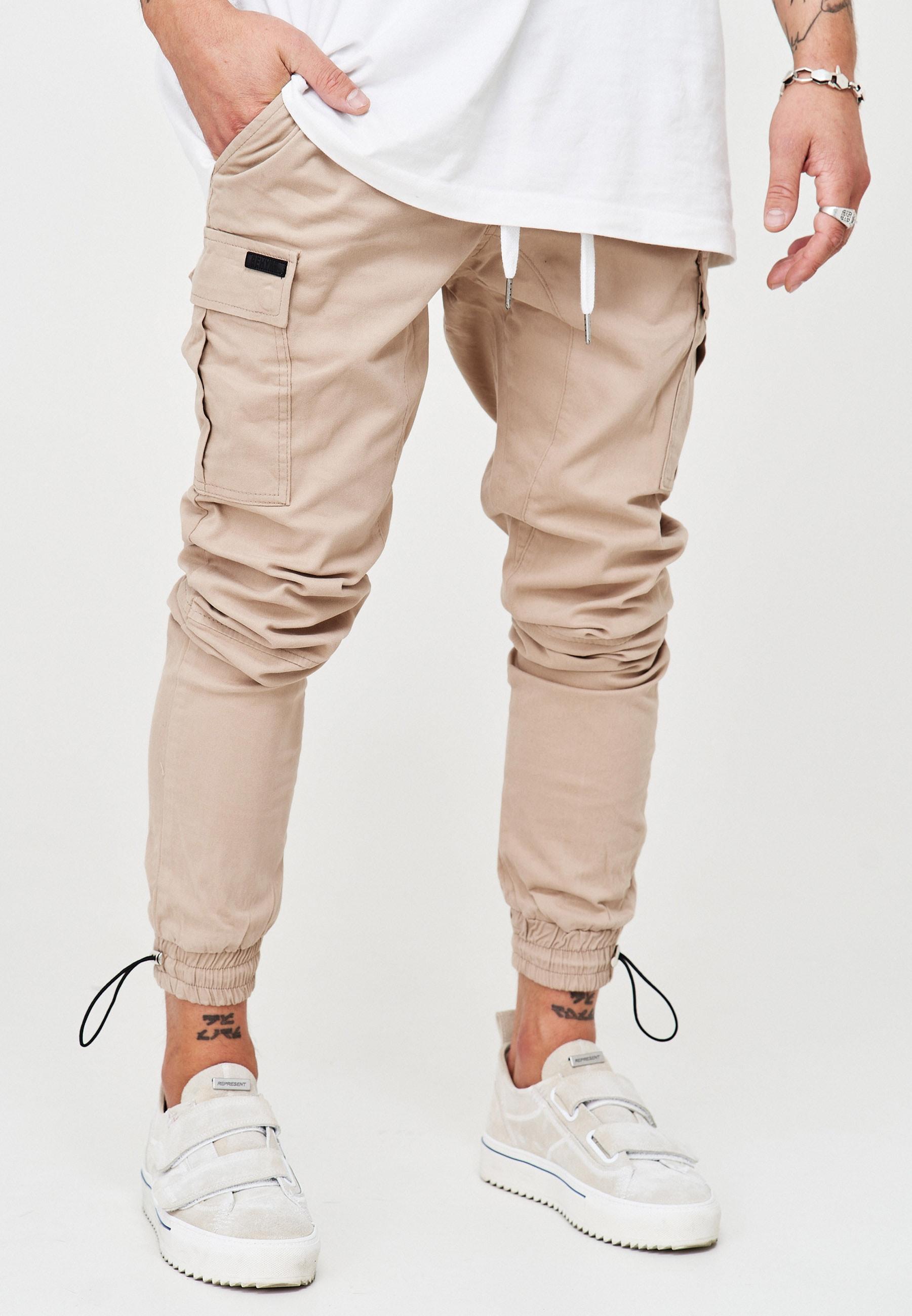 behype -  Cargohose LENNY, mit elastischem Bund