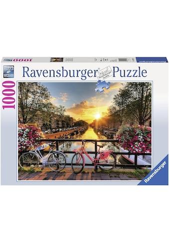 """Ravensburger Puzzle """"Fahrräder in Amsterdam"""" kaufen"""