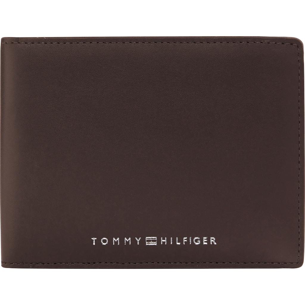 Tommy Hilfiger Geldbörse »TH METRO CC AND COIN«, aus hochwertigem Leder
