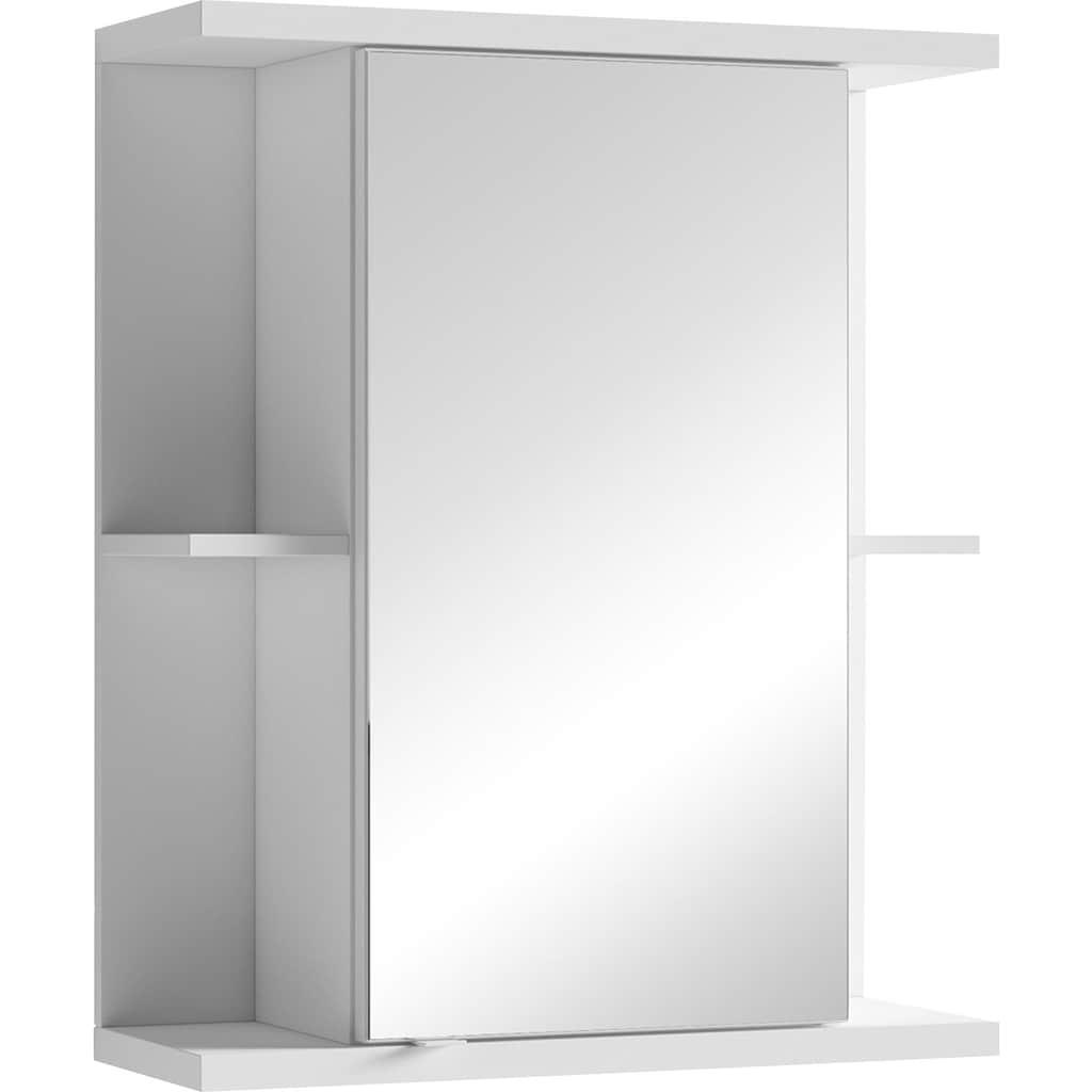 byLIVING Spiegelschrank »Nebraska«, Breite 60 cm, mit großer Spiegeltür und viel Stauraum