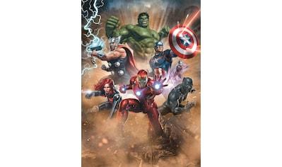 Komar Fototapete »Avengers Superpower«, bedruckt-Comic-Retro-mehrfarbig, BxH: 200x280 cm kaufen