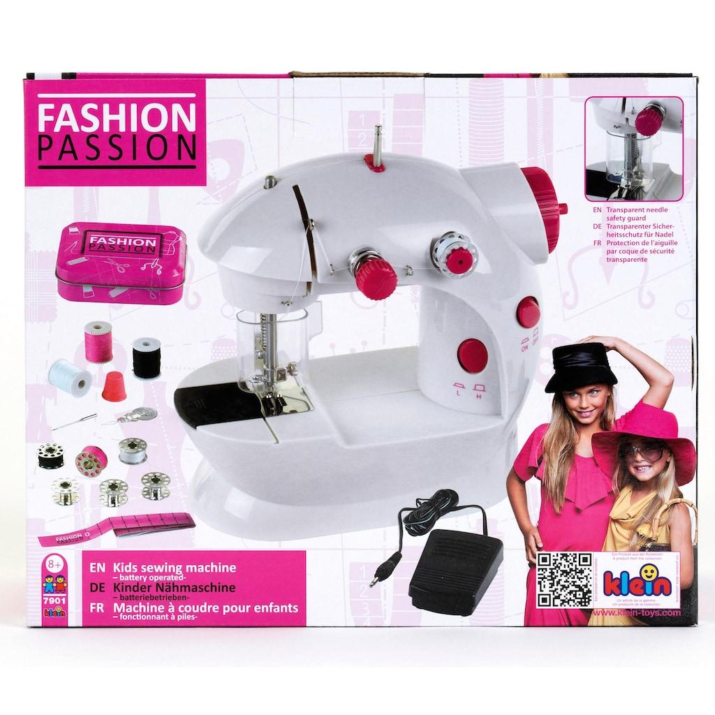 Klein Kinder-Nähmaschine »Fashion Passion«, batteriebetrieben