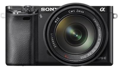 Sony Systemkamera »Alpha ILCE-6000Z«, Carl Zeiss 16-70, WLAN (Wi-Fi), Gesichtserkennung, HDR-Aufnahme kaufen