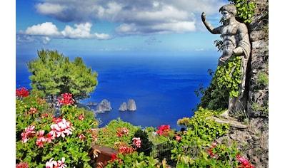 Papermoon Fototapete »Capri Island View«, Vliestapete, hochwertiger Digitaldruck kaufen