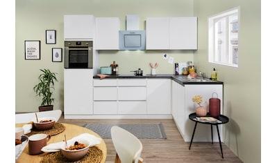 RESPEKTA Winkelküche »Usedom«, mit E-Geräten, mit Soft-Close Funktion, Breite 280 x... kaufen
