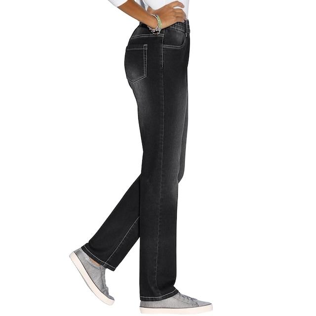 Classic Basics Jeans mit Rundum-Dehnbund