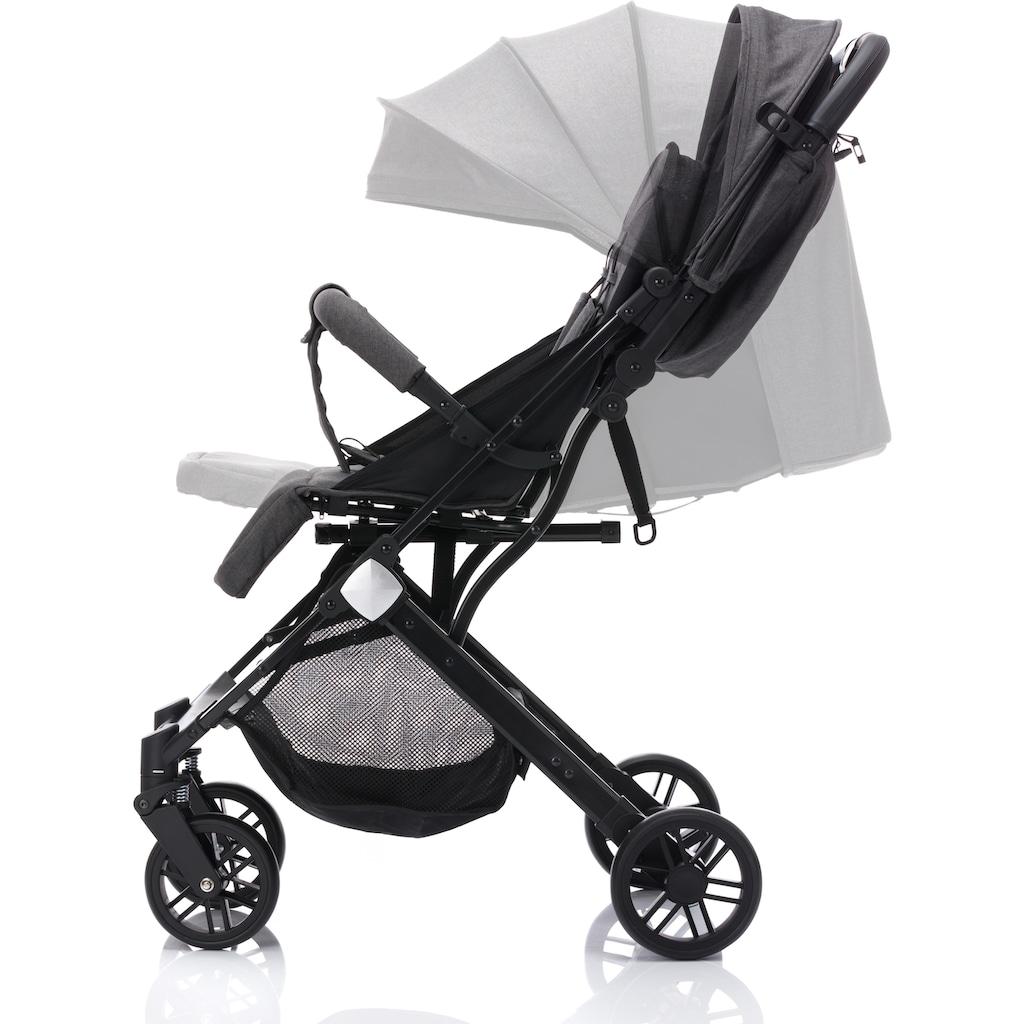 Fillikid Sport-Kinderwagen »Styler, dunkelgrau«, mit Trolleygriff; Kinderwagen, Buggy, Sportwagen, Kinder-Buggy, Kinderbuggy