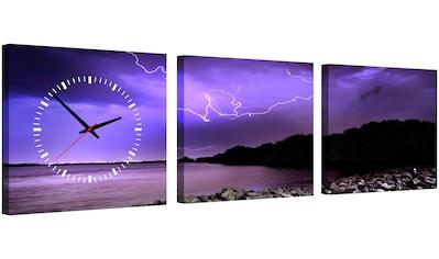 Conni Oberkircher´s Bild »Wrath of Nature«, Landschaften, (Set), auf kunstvollem... kaufen