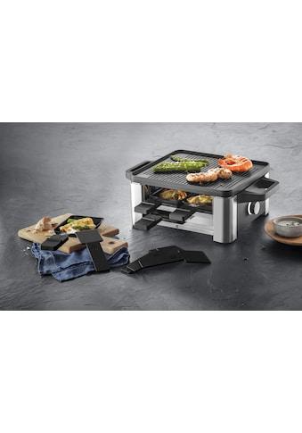 WMF Raclette LONO for 4, 4 Raclettepfännchen, 870 Watt kaufen