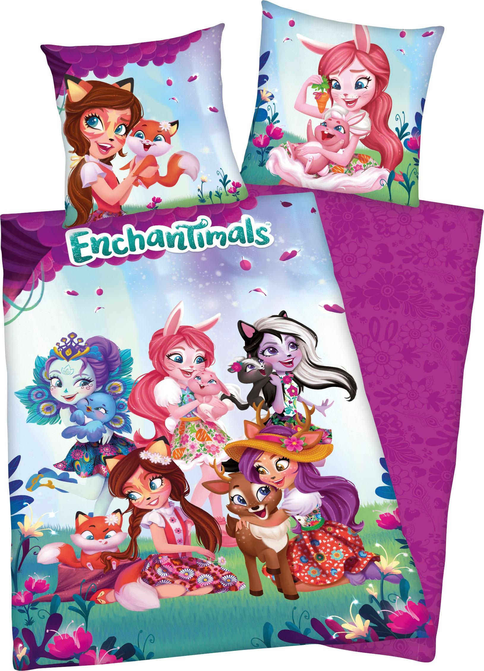 Kinderbettwäsche Enchantimals