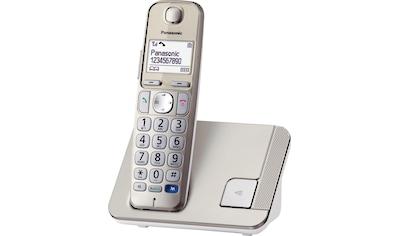 Panasonic Schnurloses DECT-Telefon »KX-TGE210GN«, (Mobilteile: 1 ), Freisprechen, Weckfunktion kaufen