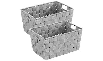 WENKO Aufbewahrungskorb »Adria« (Set, 2 Stück) kaufen