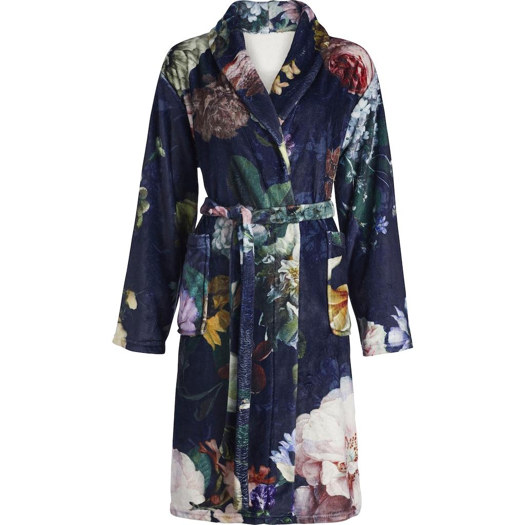 Essenza Damenbademantel »Fleur«, (1 St.), im floralen Design