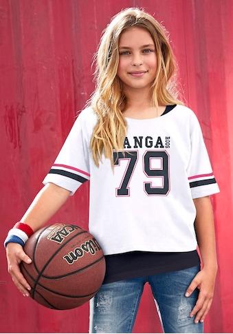 KangaROOS Kurzarmshirt, mit Logodruck kaufen