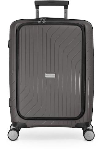 Hauptstadtkoffer Hartschalen-Trolley »TXL, titan, 55 cm«, 4 Rollen, mit gepolstertem... kaufen